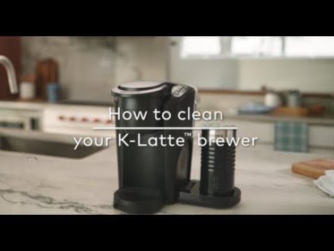 How to Clean Your Keurig® K-Latte Coffee & Latte Maker