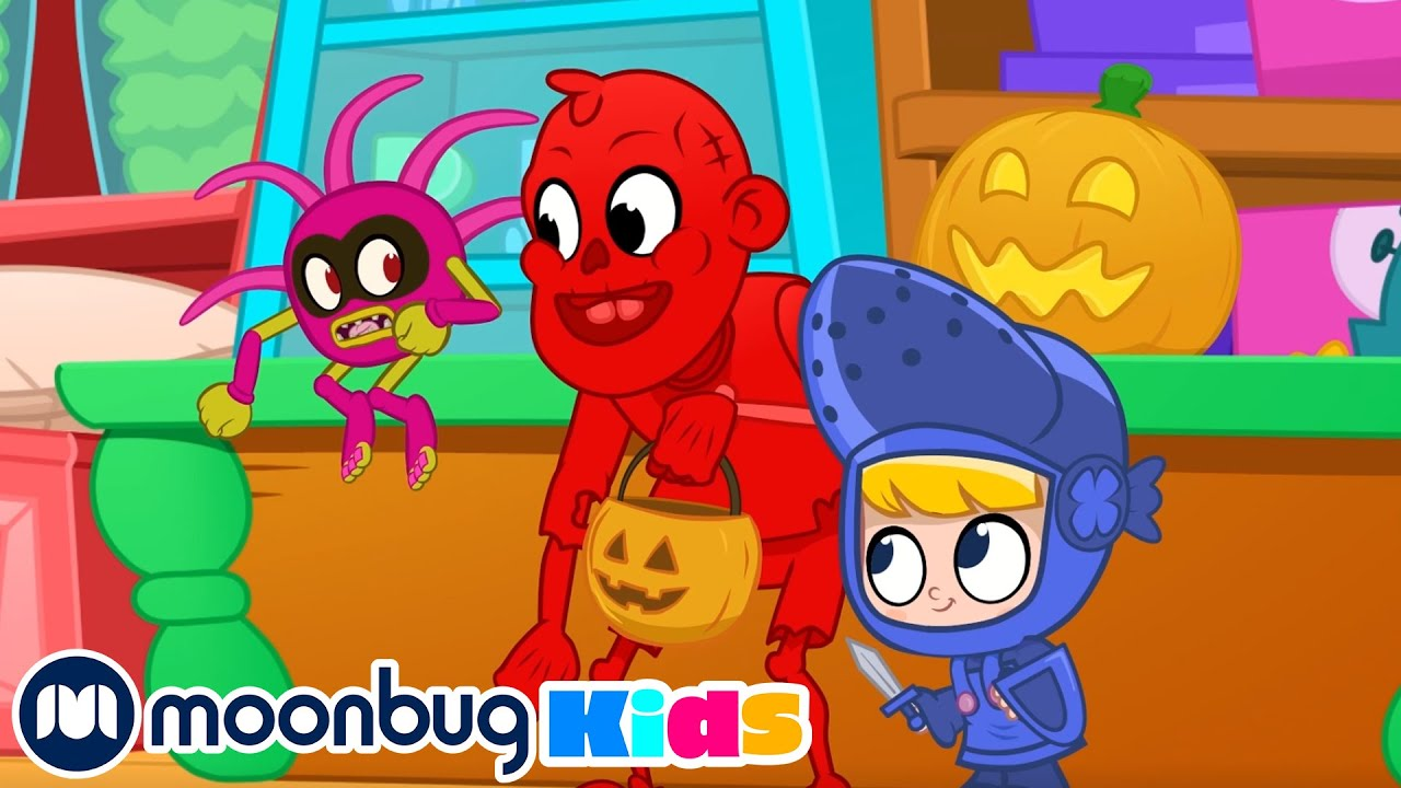 The Halloween Monster!!! | My Magic Pet Morphle | Kids Cartoons | Morphle and Mila