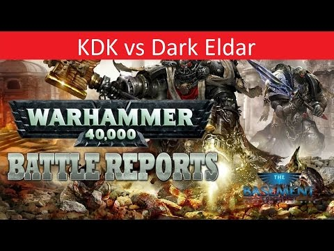 Warhammer 40k Batrep, TBMC, 1500 Khorne Daemonkin vs. Dark Eldar, Battle Report