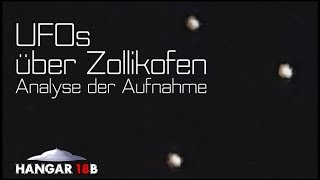 UFOs über Zollikofen - Analyse der Aufnahme