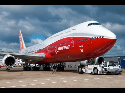 Boeing 747-8 Mega factories Documentary- Boeing