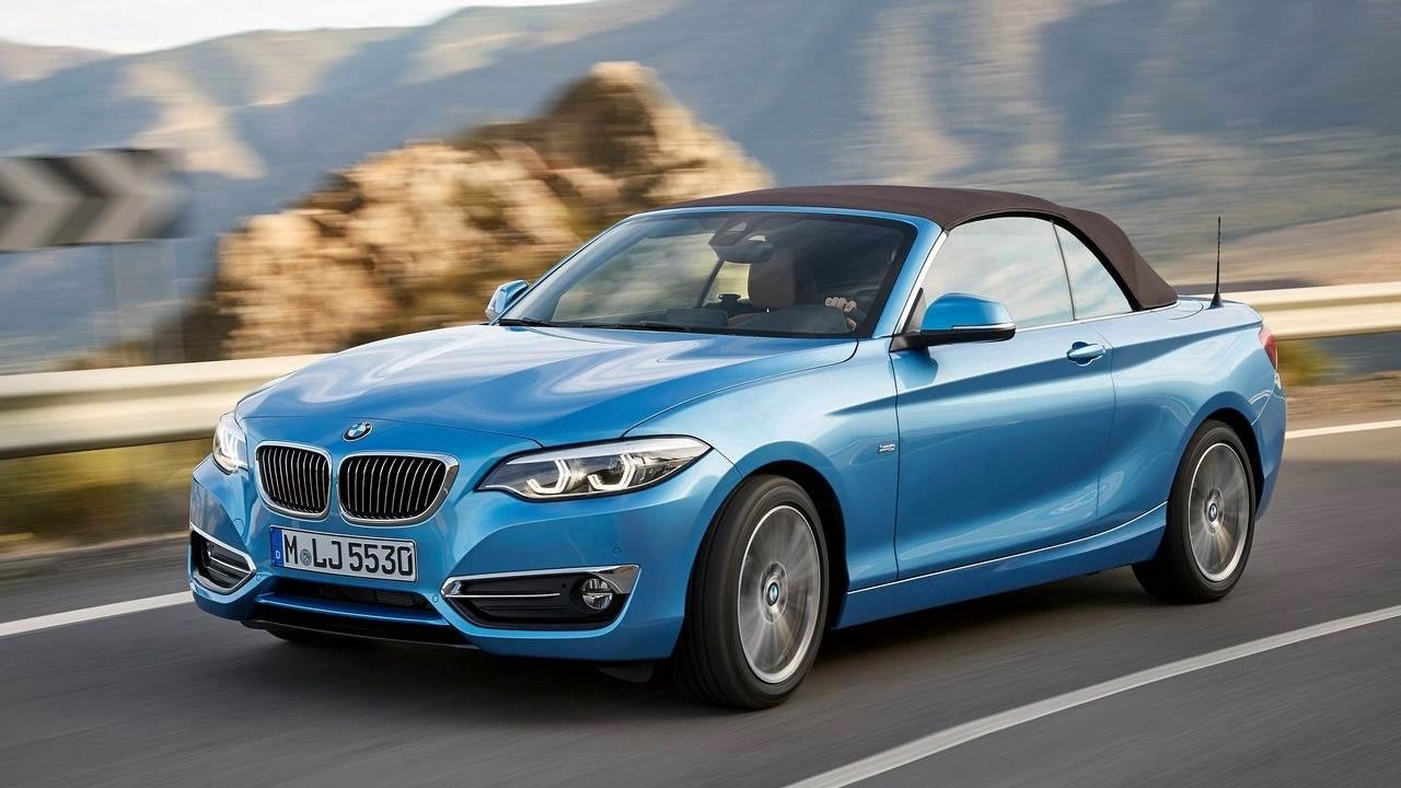 2018 Bmw 2 Series Convertible S Smallest Two Door Model For The Year Autobizz