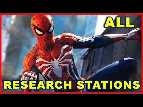 Spider-Man PS4: All Research Station Missions Walkthrough Guide