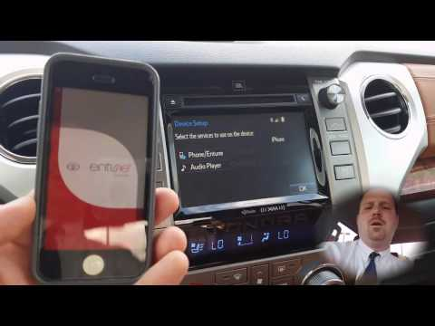 How to install Toyota Entune App Suite 2.0 and up