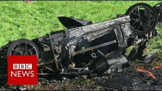 Grand Tour host Richard Hammond injured in crash - BBC News