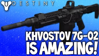destiny the khvostov 7g 02 amazing pvp weapon everyones had but nobody uses review how to get