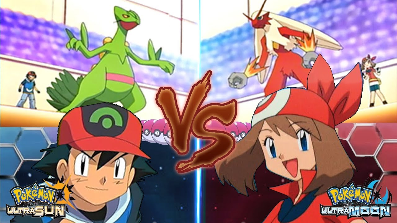 Pokemon ash vs may