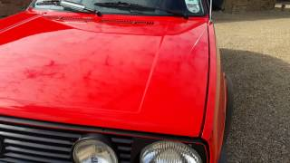 Mk2 Golf GTI Walkaround - Collectors Item