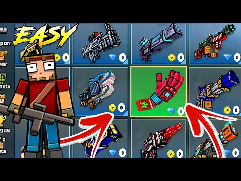 *FREE* Pixel Gun 3D HACK/MOD 17.5.1   Android/iOS  Max Level All Guns All Pets & 999,999 Coins/Gems!