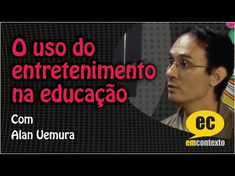 O uso do entretenimento na educação, com Alan Uemura — Em Contexto #24