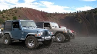Cinder Hills OHV Area - Flagstaff, Arizona - Off-Road Camping