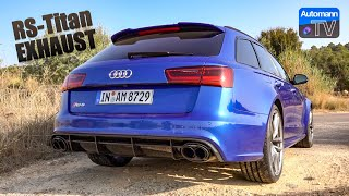 2018 Audi RS6 Titan-Exhaust - pure SOUND (60FPS)