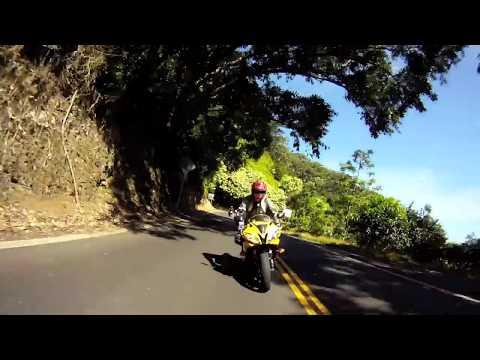 Hana Highway on Sportbikes - (Maui, Hawaii) R6