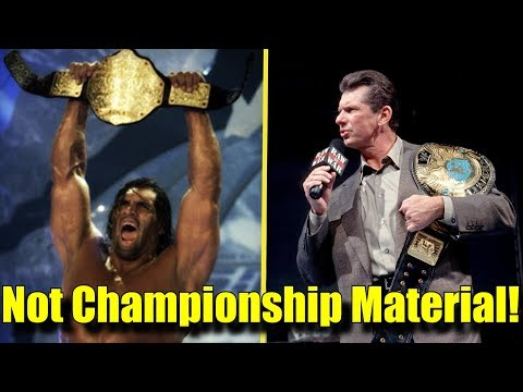 10 Wrestlers That Didn't DESERVE To Win a WORLD TITLE!