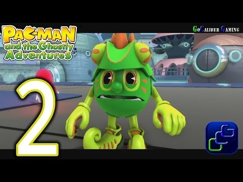 Pac-Man And The Ghostly Adventures Walkthrough - Part 2 - Pacopolis: Park Panic