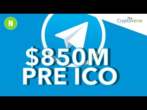 They Did It! 📈 $850m Raised By Telegram Pre-ICO