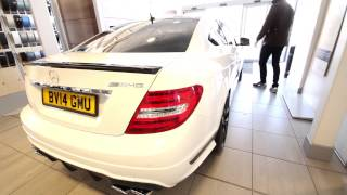 Lord Aleem Picking up the new 2014 Mercedes C63 AMG 507 Edition