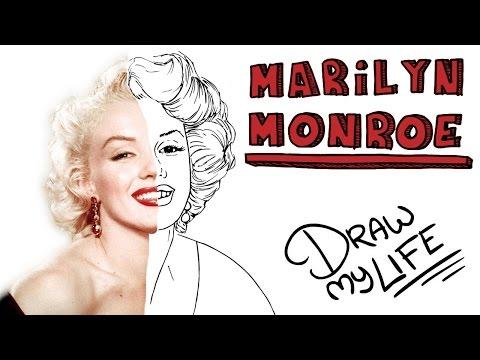 MARILYN MONROE | Draw My Life