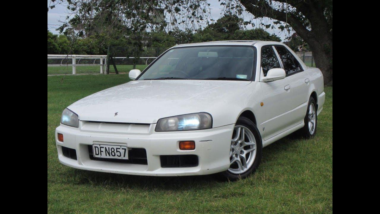 1999 Nissan Skyline 2 5 Gt R34 Sedan No Reserve