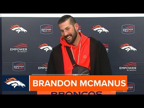 Brandon McManus recaps his game and game-winning field goal