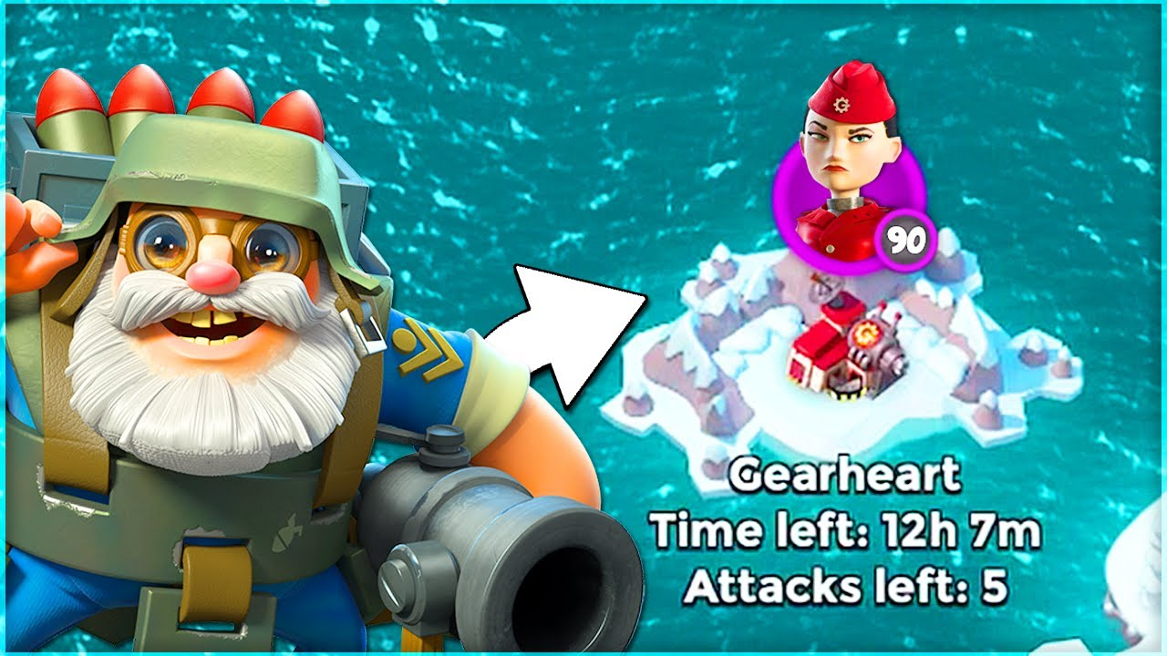 Download ALL Bombardier Strategy vs War Factory in Boom Beach