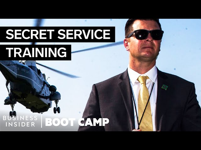 What New Secret Service Recruits Go Through At Boot Camp Youtube