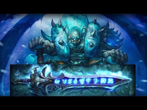 Hearthstone Adventure: Icecrown - Lich King Defeat with