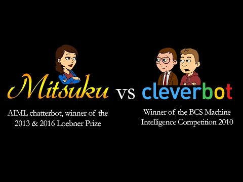 Mitsuku Vs Cleverbot - AI (Artificial Intelligence) Chatbot Showdown