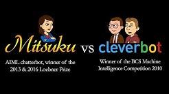Mitsuku vs Cleverbot - AI (Artificial Intelligence) Chatbot Showdown