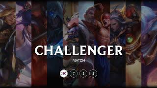 KR Challenger match 711: Over 10.000 LP match
