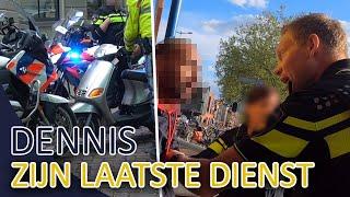Politie   Dennis zijn laatste dienst   Aanhouding gesignaleerde   Achtervolging en meer !!!