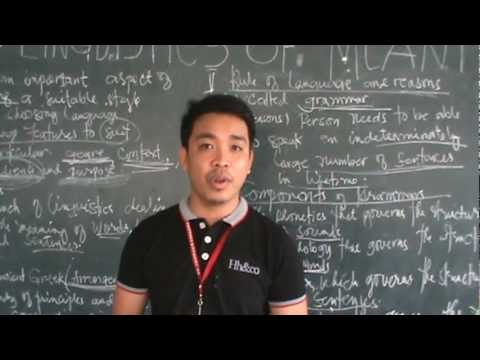"Introduction to Stylistics: Linguistics of Meaning and Grammar"" # 2"