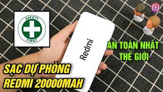 Review sạc dự phòng Redmi 20000mAh rẻ và an toàn nhất thế giới - Có rất nhiều công nghệ!