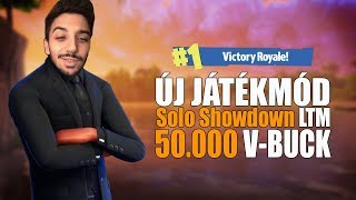 NEW GAME MODE! | SOLO SHOWDOWN LTM! | 50.000 V-BUCK PRIZE! (Fortnite Battle Royale)