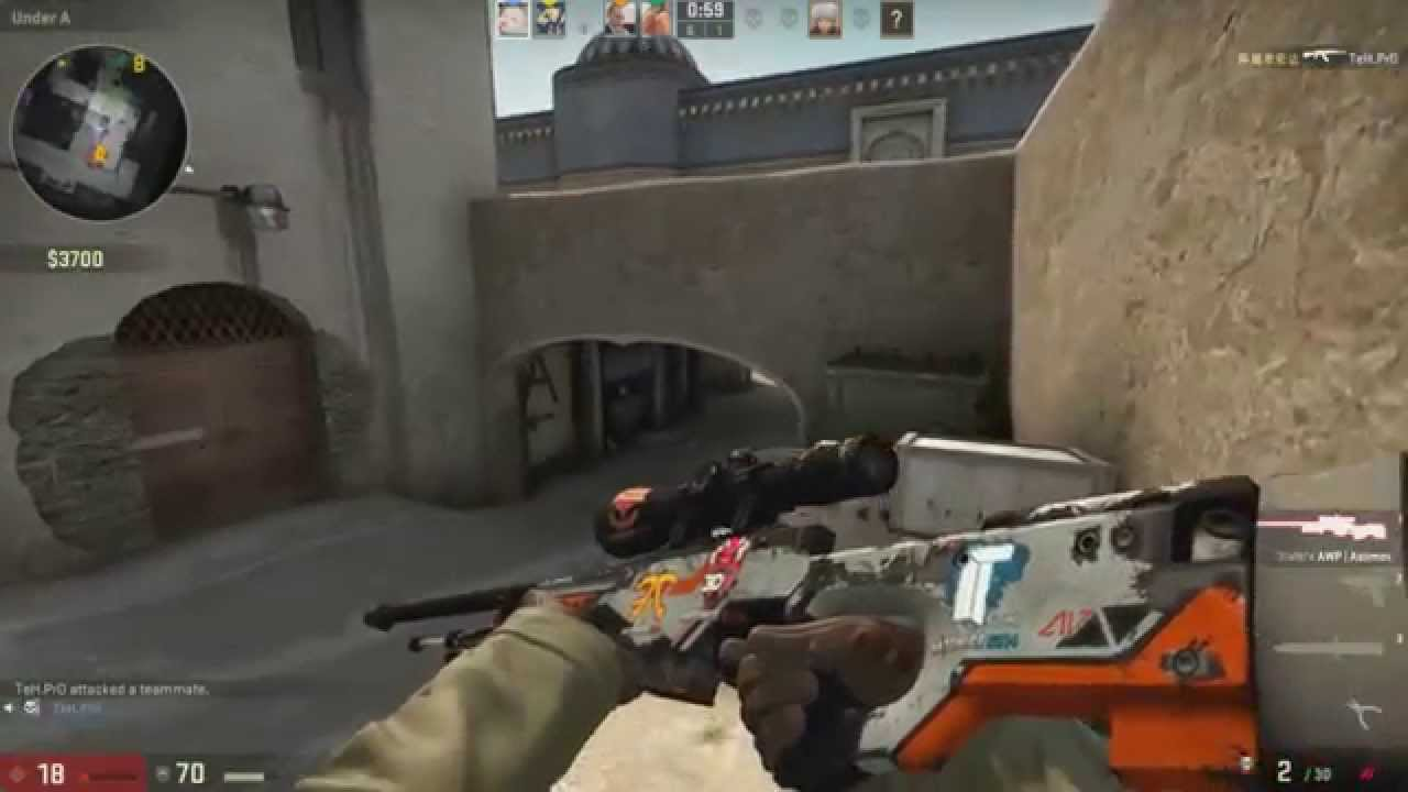 how to stop playing scared at csgo