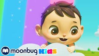 Learn Rainbow Colors | ABC 123 Moonbug Kids | Fun Cartoons | Learning Rhymes
