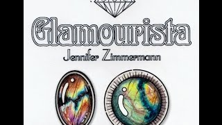 Coloring Tutorial: Spectrolite Gemstone, By Jennifer Zimmermann