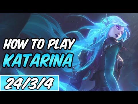 KATARINA MID | Build & Runes | Diamond Death Sworn Katarina | League of Legends | S9