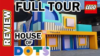 LEGO House of Dots Tour in under 5 minutes review. Insiders Commentary. Bracelets Picture Holders