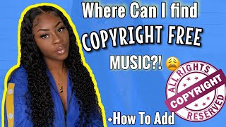 Avoid Copyright Claims! Copyright Music Explained+ HOW TO Add music to your videos!