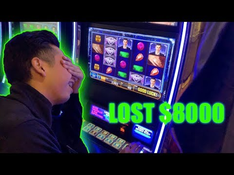 I Lost All My Money At The Casino