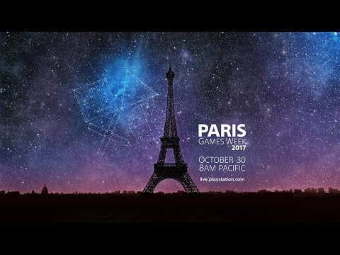 Sony Interactive Entertainment's Paris Games Week 2017 PlayStation Media Showcase