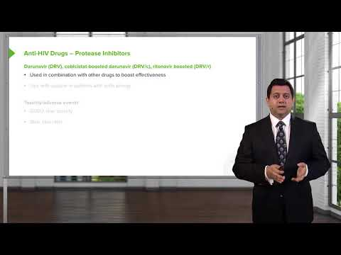 30 Protease Inhibitors – Anti HIV Agents   Video