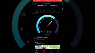 Spectrum internet speed test
