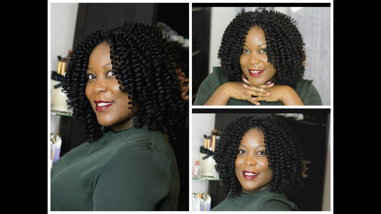 CROCHET BRAID TUTORIAL/ INVISIBLE KNOT PART - YouTube
