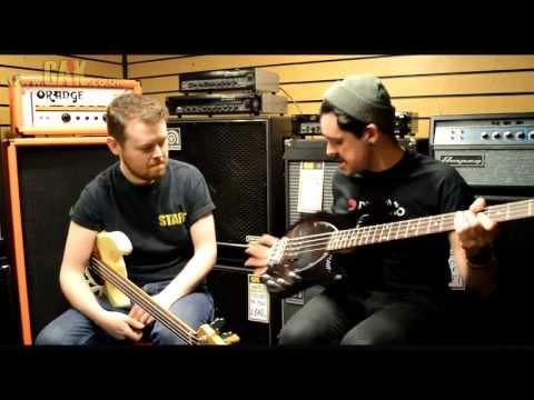 Music Man - Sterling & Stingray Classic 4 Demo at GAK