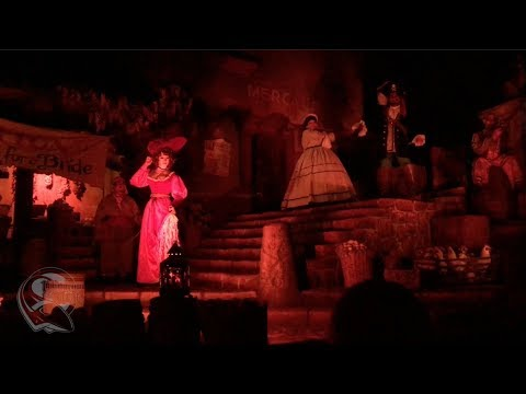 Final Night of Disneyland's Pirates of the Caribbean with Classic Auction Scene