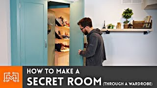 How to Make a Secret Room (Through a Wardrobe) | I Like To Make Stuff