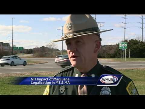 Marijuana legalization in border states raises concerns in New Hampshire