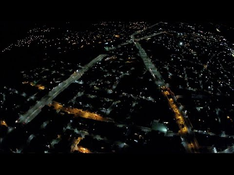 """Фото Prueba de altura de noche con el hubsan h501s """"170m"""""""